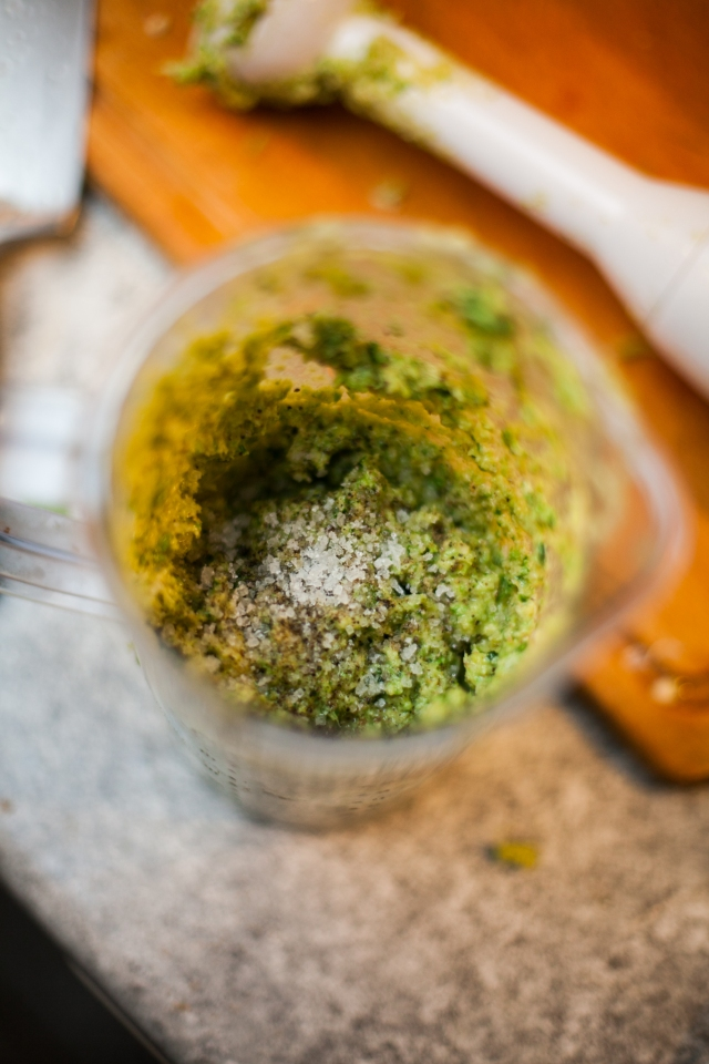 Kale pesto - A pinch of me