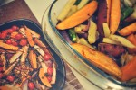 Roasted vegetables - A pinch of me